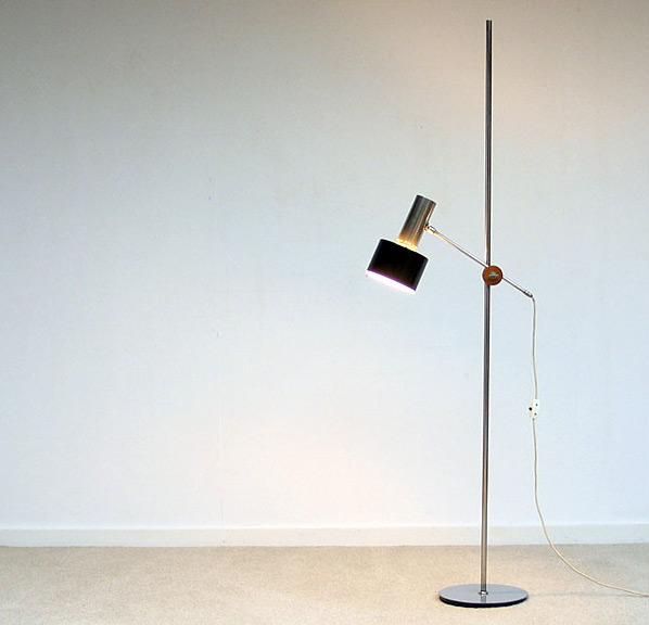 Architectural Floor lamp Baltensweiler 1960