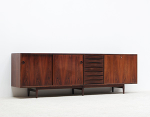 Arne Vodder brazilian rosewood sideboard for Sibast