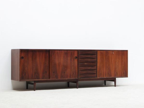 Arne Vodder brazilian rosewood sideboard for Sibast
