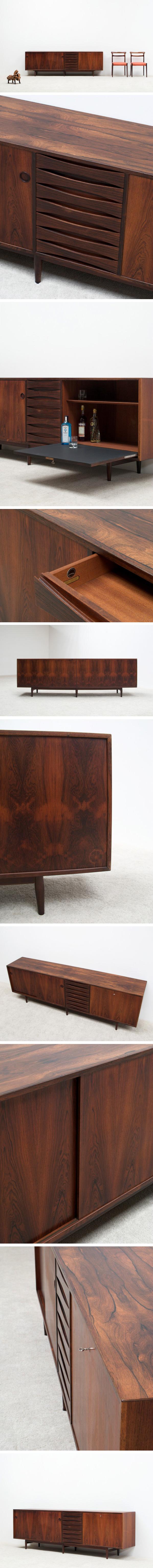Arne Vodder brazilian rosewood sideboard for Sibast Large