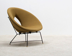 Augusto Bozzi Saporiti Kosmos side chair