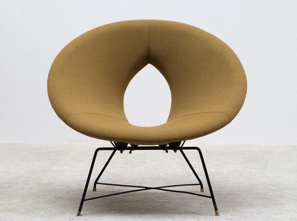 Augusto Bozzi Saporiti Kosmos side chair