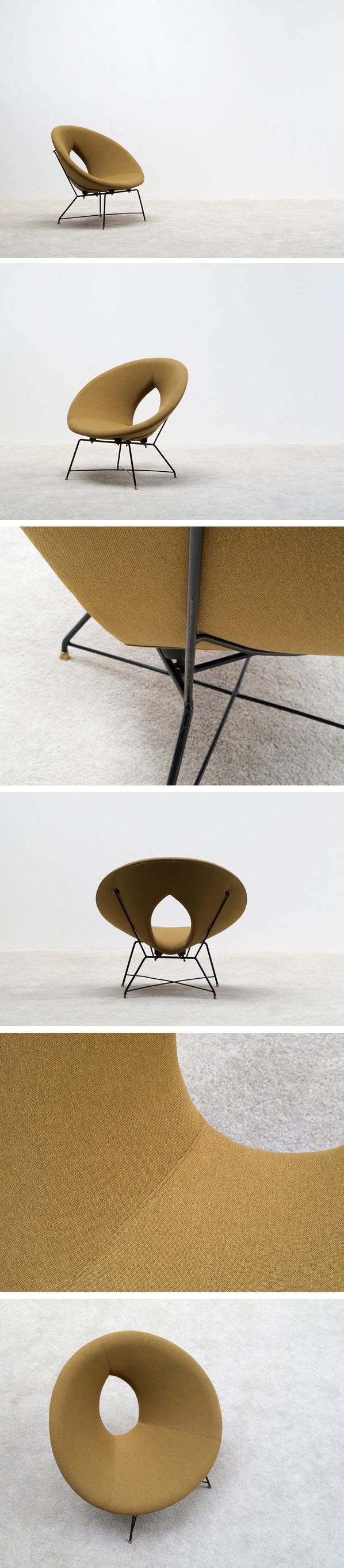 Augusto Bozzi Saporiti Kosmos side chair Large