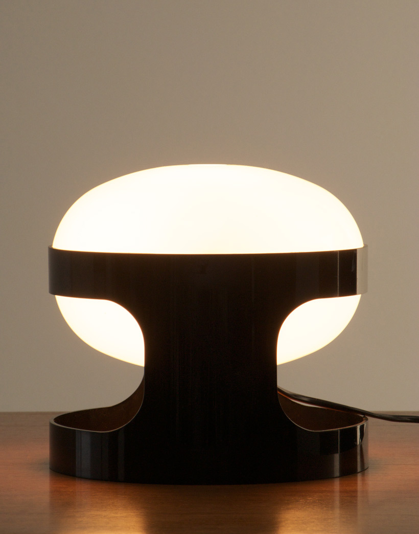 Black KD27 Joe Colombo Kartell table lamp