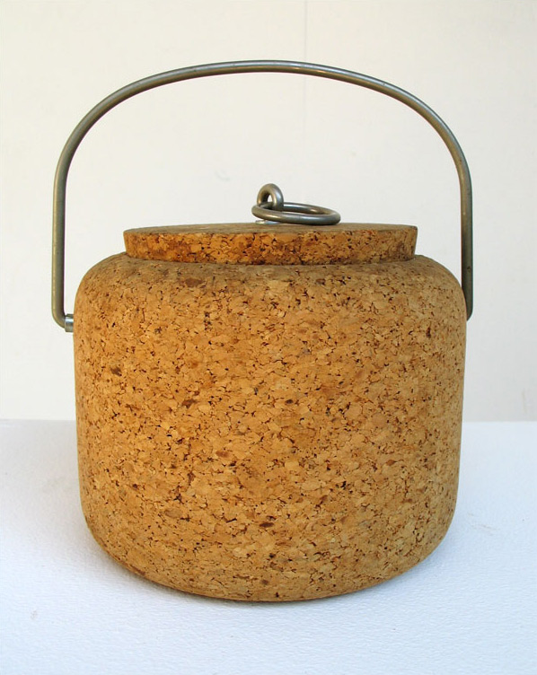 Boda Nova Persson-melin Scandinavian Modern Cork Ice bucket