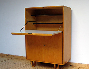 Cabinet with desk Cees Braakman Pastoe