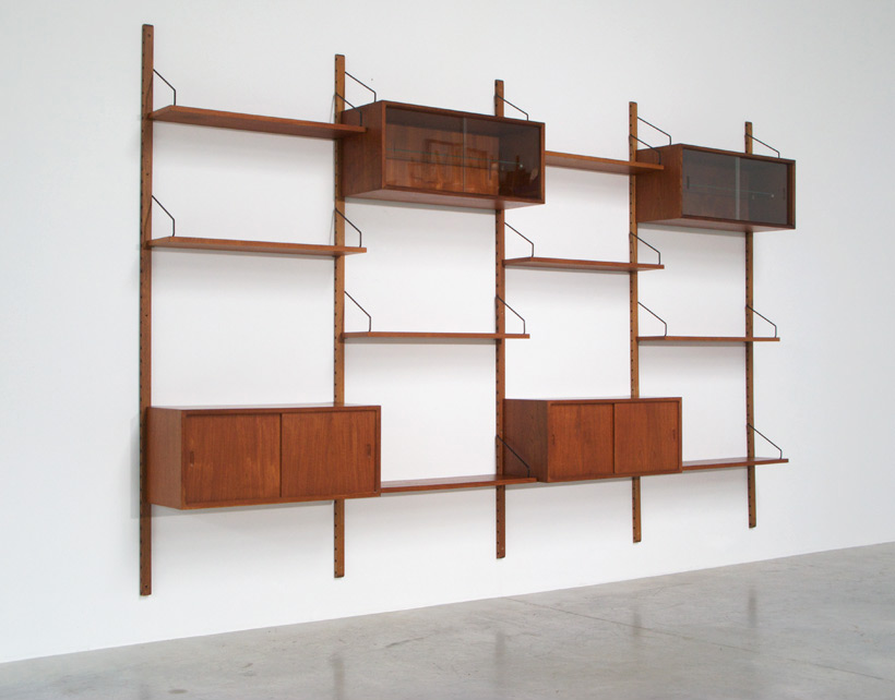 Cadovius Poul teak modular Wall Unit for Royal System