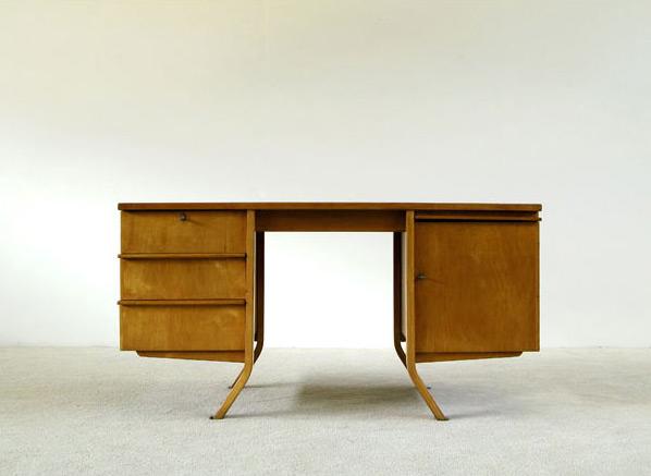 Cees Braakman Birch wood writing desk UMS Pastoe
