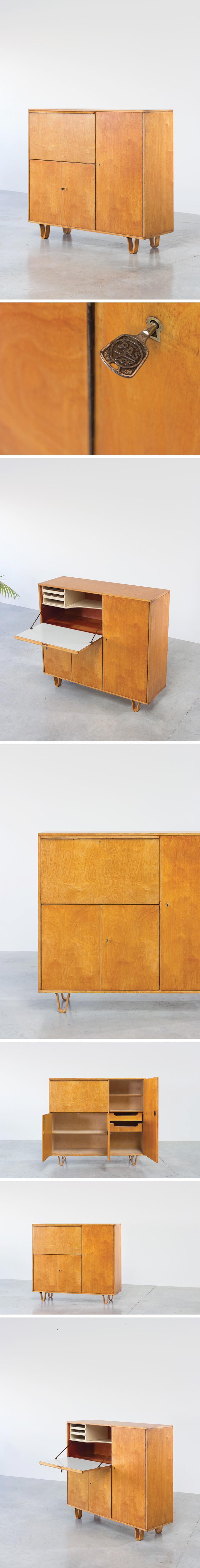 Cees Braakman cabinet CB01 Combex circa 1950 Large