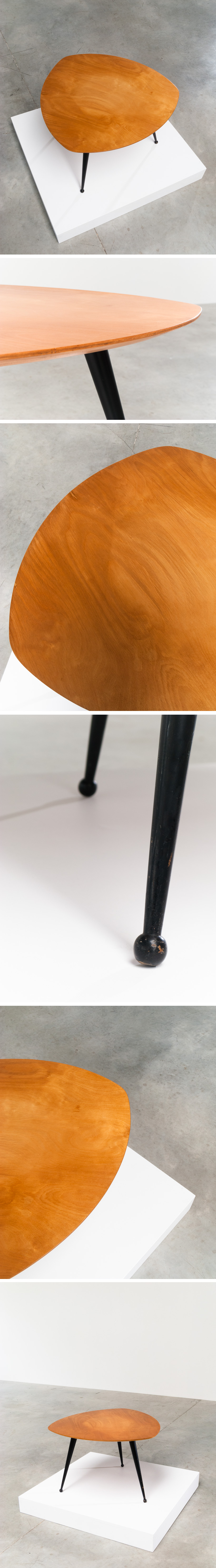 Cees Braakman Kidney shaped side table TB16 Pastoe Large