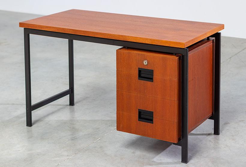 Cees Braakman modernist writing table EU01 Japanese series Pastoe img 4