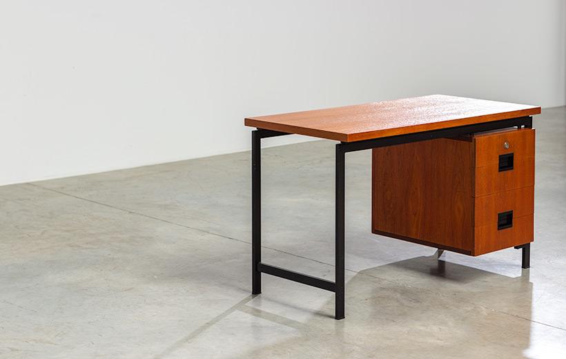 Cees Braakman modernist writing table EU01 Japanese series Pastoe img 5