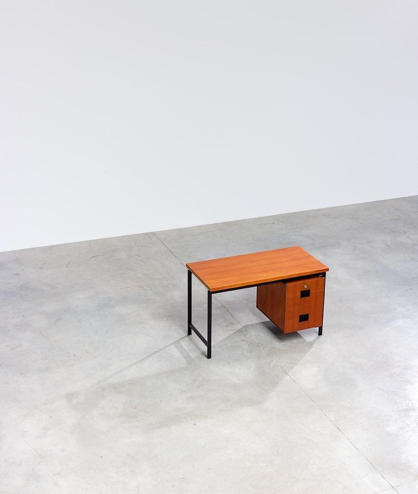 Cees Braakman modernist writing table EU01 Japanese series Pastoe img 6