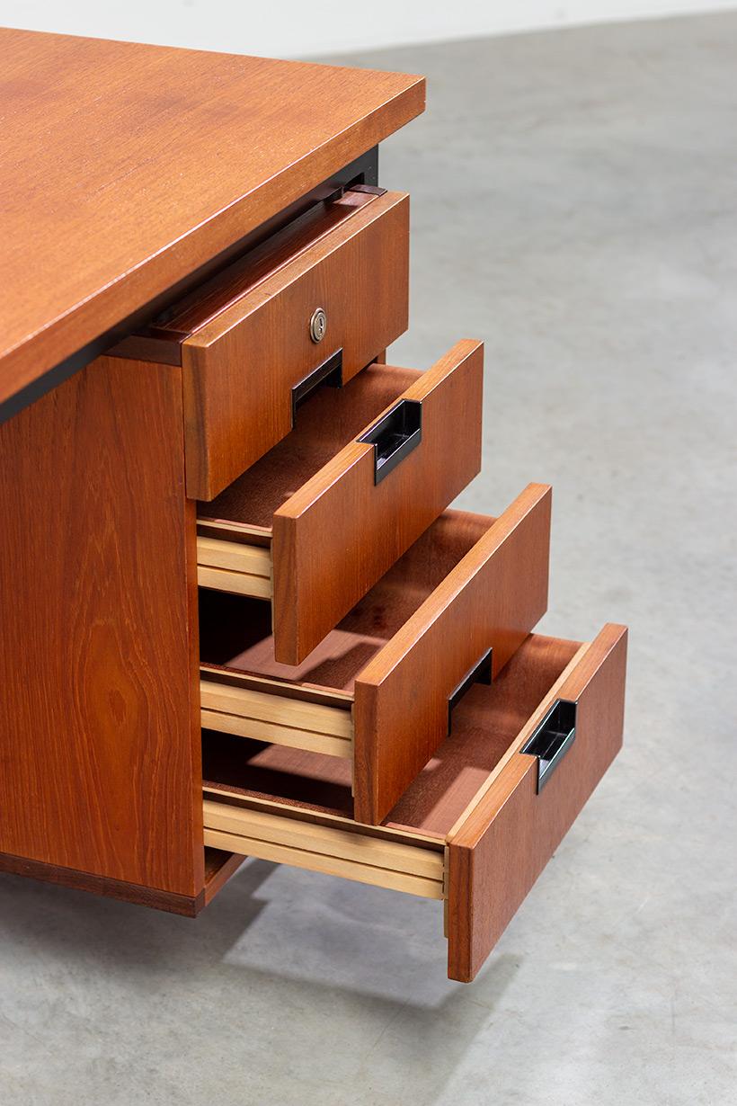 Cees Braakman modernist writing table EU01 Japanese series Pastoe img 8
