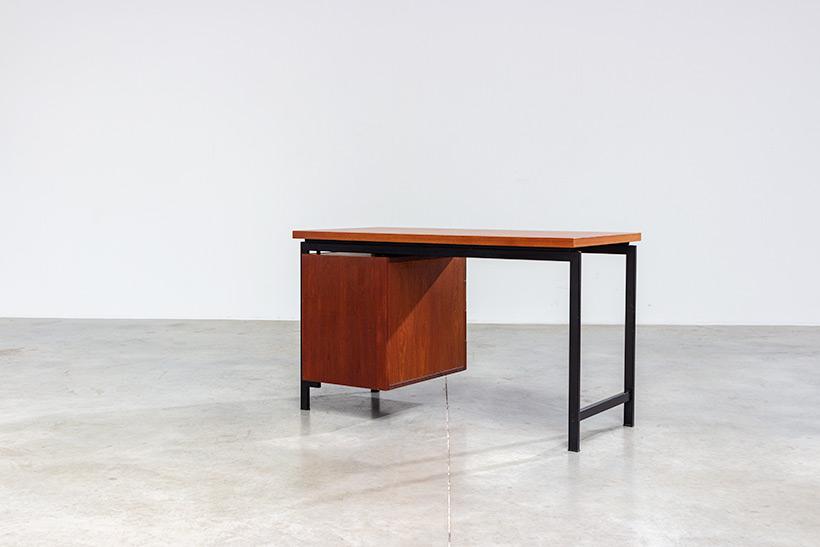 Cees Braakman modernist writing table EU01 Japanese series Pastoe img 9