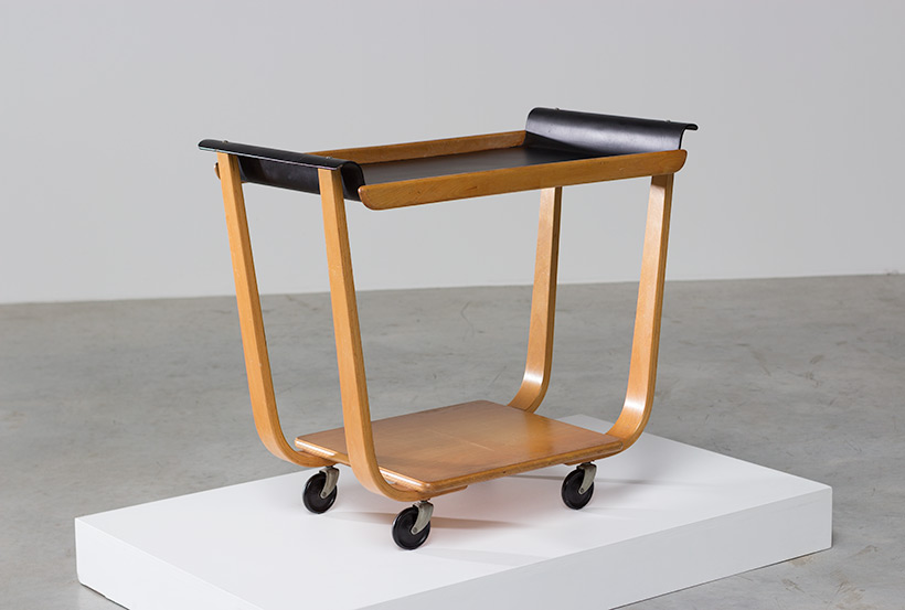 Cees Braakman Plywood PB31 Tea Trolley UMS Pastoe Utrecht img 7