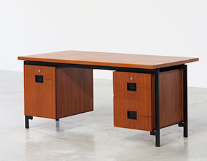 Cees Braakman teak Desk EU02 from the Japanese series UMS Pastoe