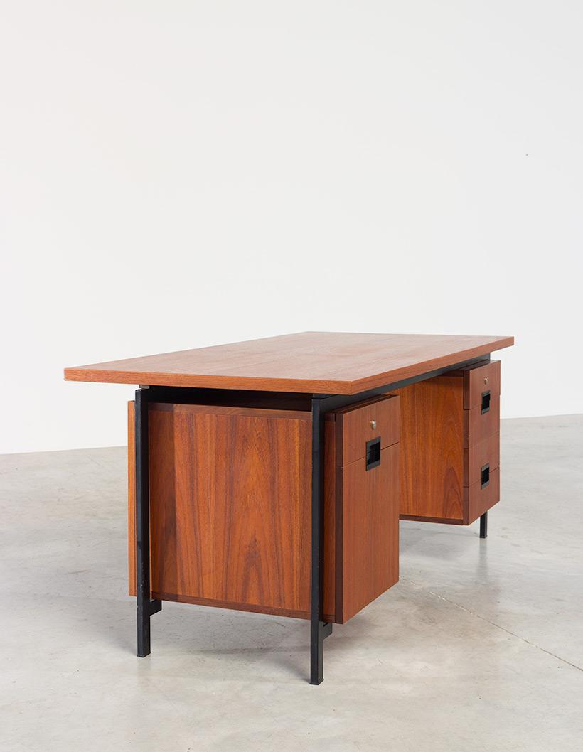 Cees Braakman teak Desk EU02 from the Japanese series UMS Pastoe