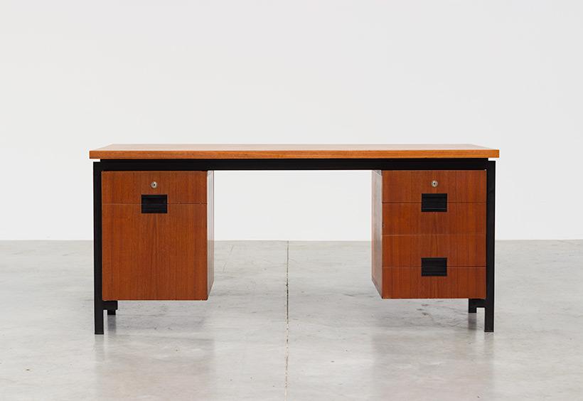 Cees Braakman teak Desk EU02 from the Japanese series UMS Pastoe img 3