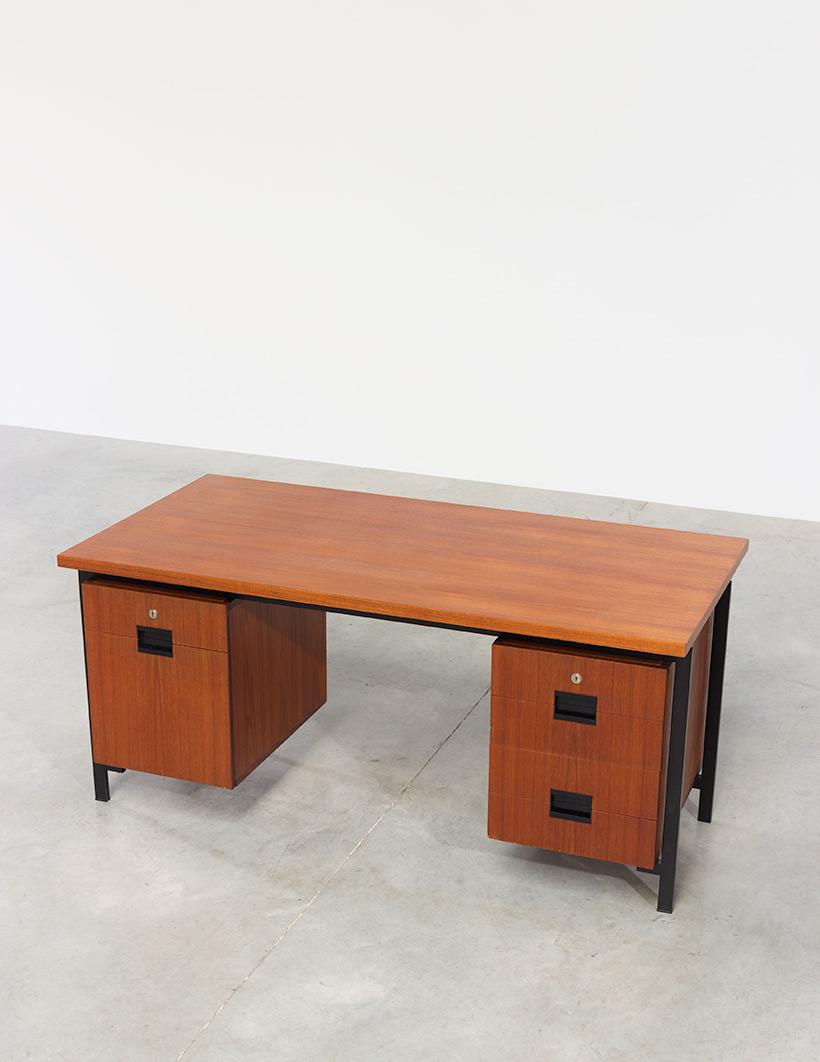 Cees Braakman teak Desk EU02 from the Japanese series UMS Pastoe img 5