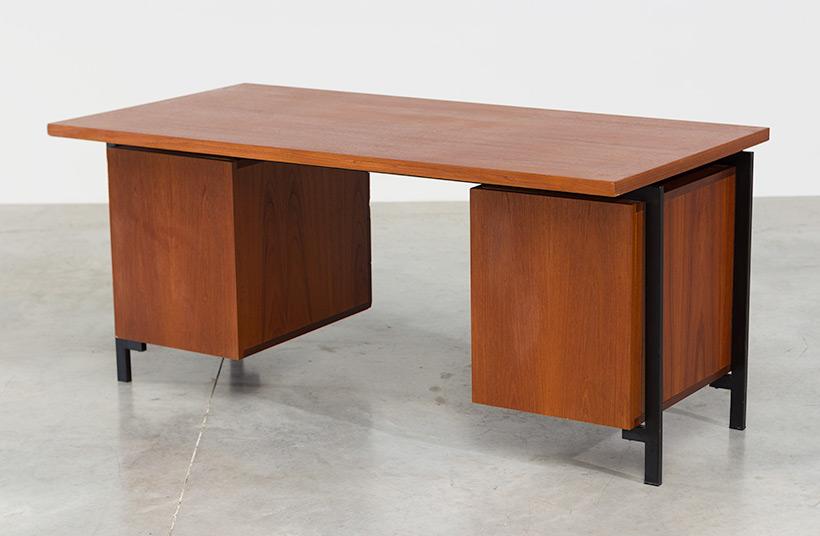 Cees Braakman teak Desk EU02 from the Japanese series UMS Pastoe img 6