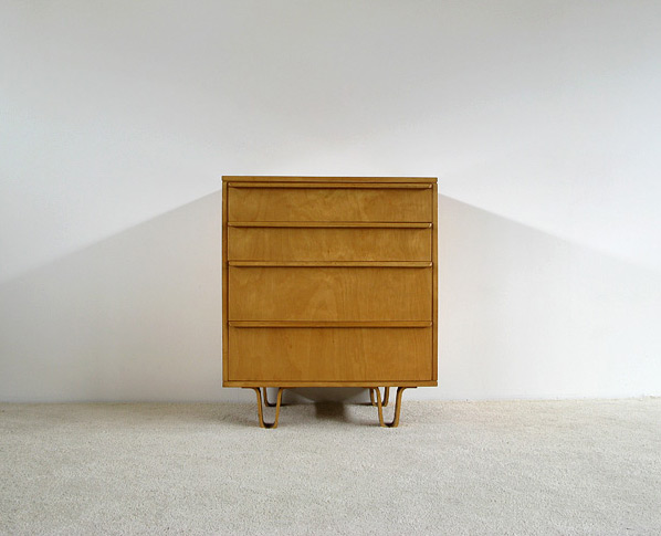 Cees Braakman UMS Pastoe birch cupboard