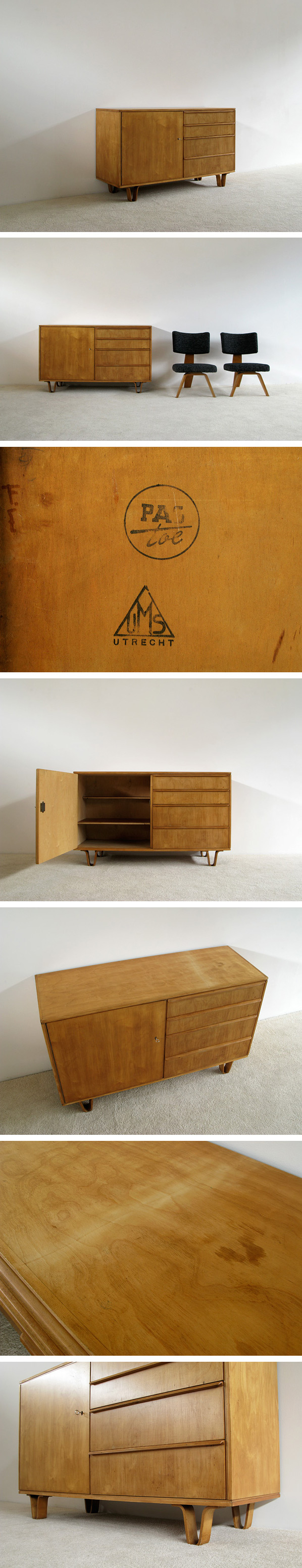 Cees Braakman UMS Pastoe small sideboard DB01 Large