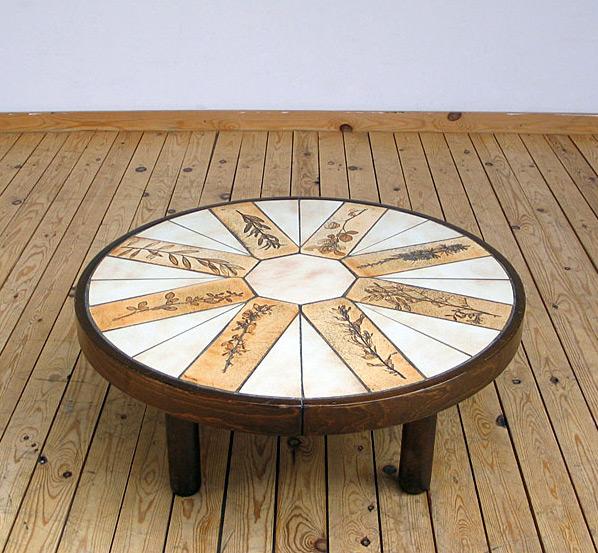 Ceramic Coffee Table Roger Capron Vallauris