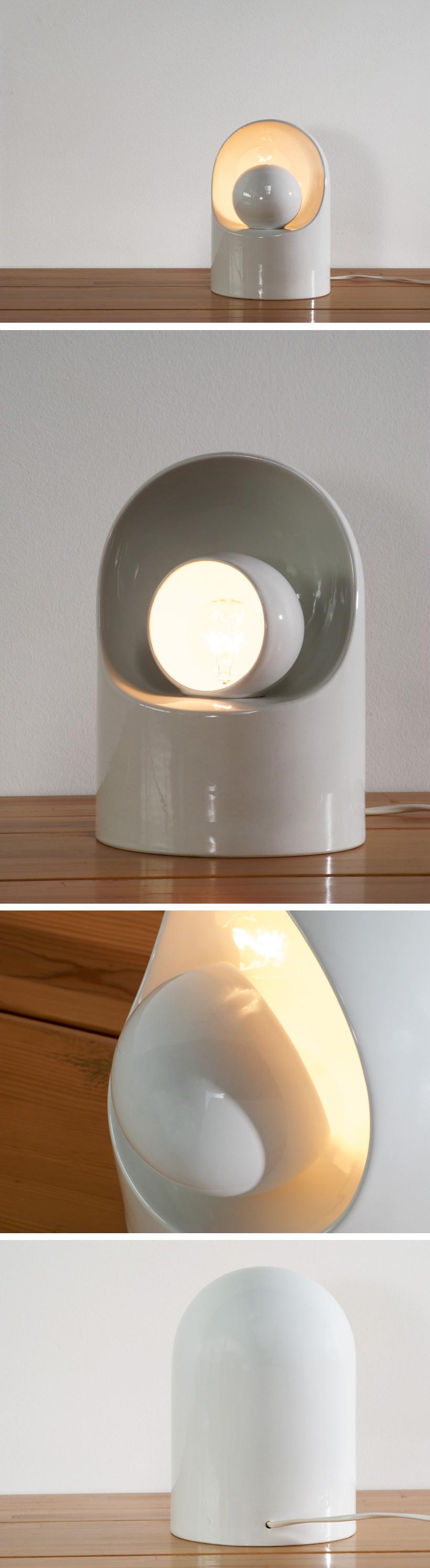 Ceramic lamp Marcello Cuneo for Gabianelli Large