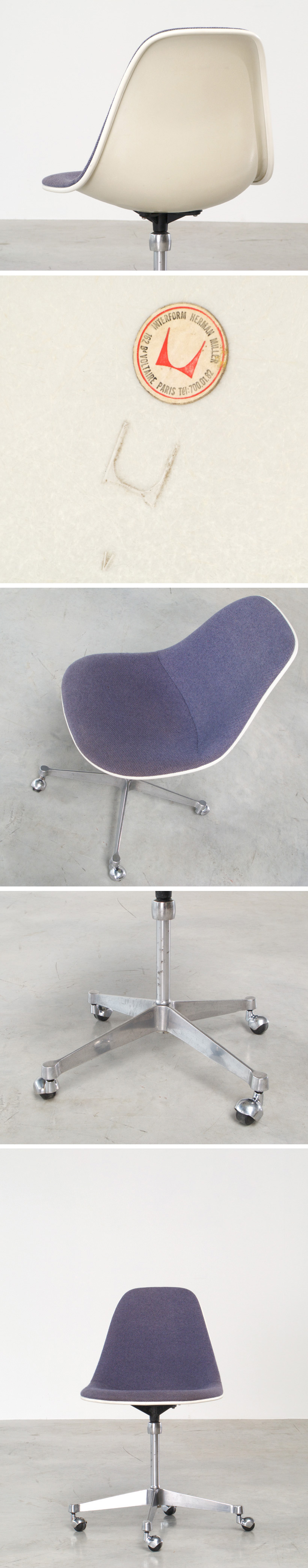 Charles and Ray Eames Secretarial chair Large
