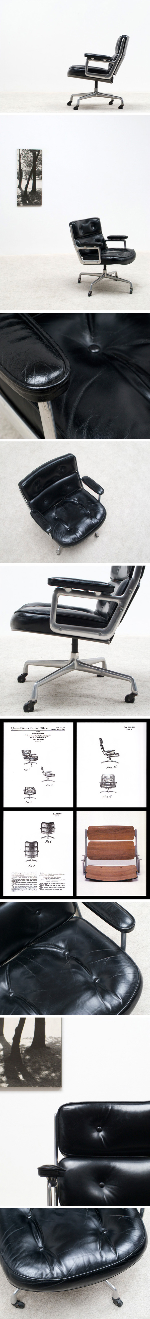 Charles Eames Time Life chair for Herman Miller Large