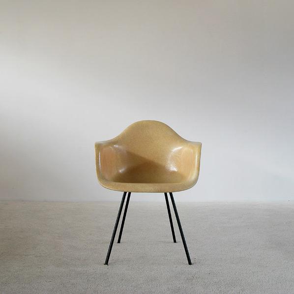 Charles Eames Zenith Herman Miller Rope Edge DAX Fiberglass Chair