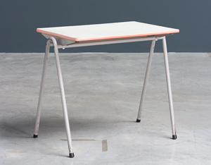 Child table Willy Van Der Meeren Industrial 1950