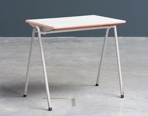 Child table Willy Van Der Meeren Industrial 1950