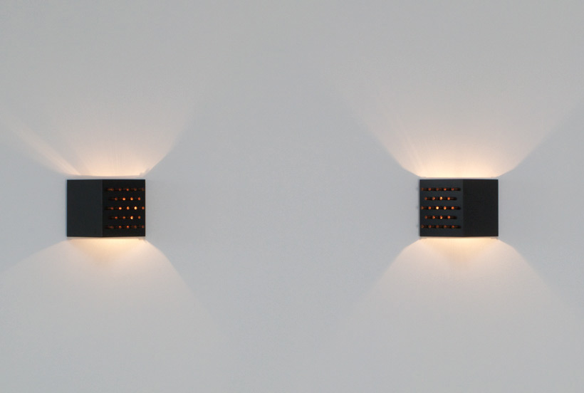 Clair obscure Pair of Raak wall sconces