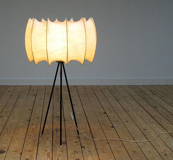 Cocoon lamp Castiglioni Flos Bovezzo Italy