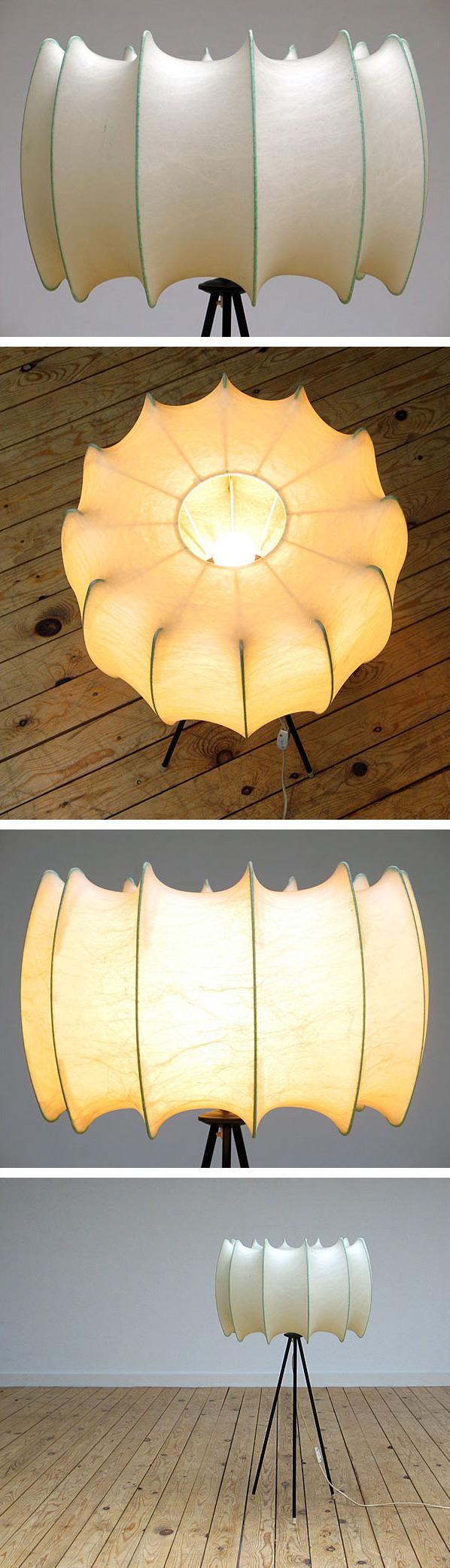 Cocoon lamp Castiglioni Flos Bovezzo Italy Large