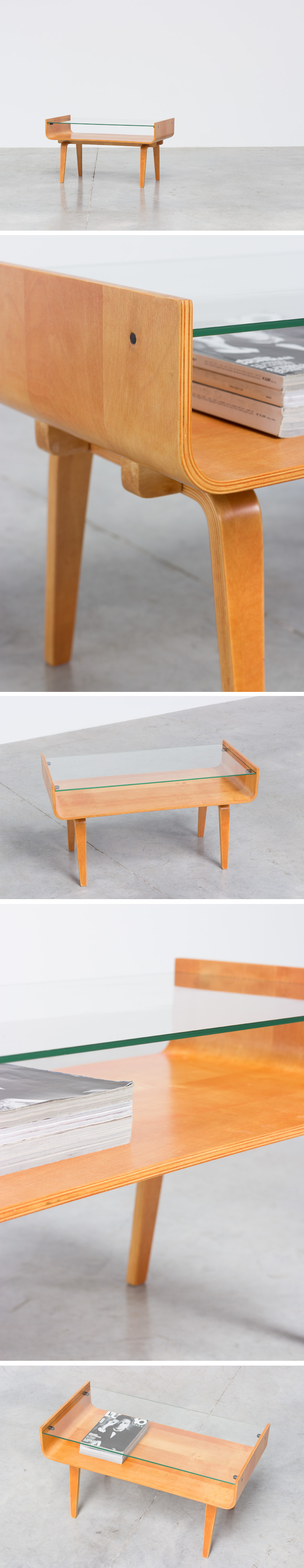 Cor Alons Combex coffee table for De Boer 1950 Large