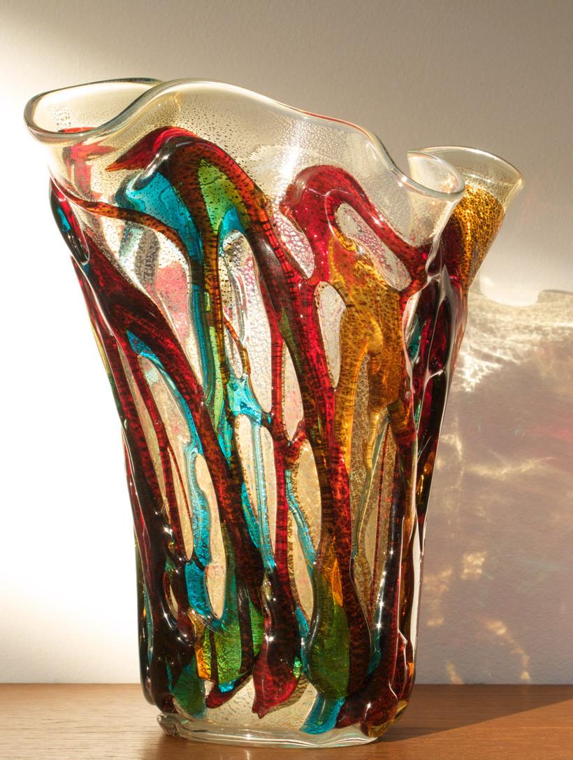 Costantini Vase Murano glass