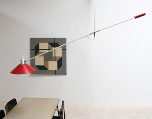 Counter balance lamp J.J.M. Hoogervorst for Anvia