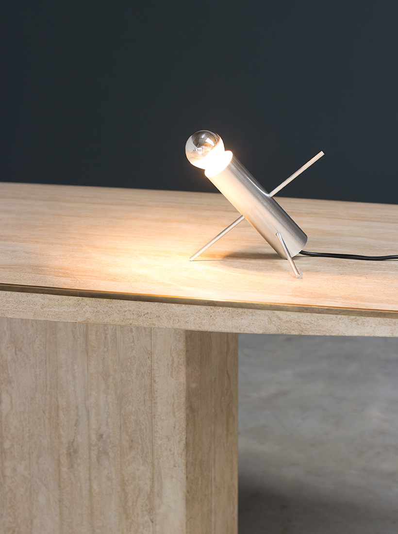 Cricket table lamp designed by Otto Wach for Raak 1960