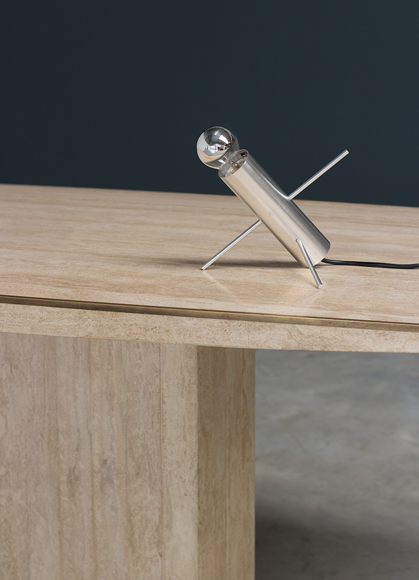 Cricket table lamp designed by Otto Wach for Raak 1960 img 6