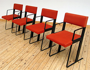 DC chairs Dick Spierenburg for Castelijn 1978