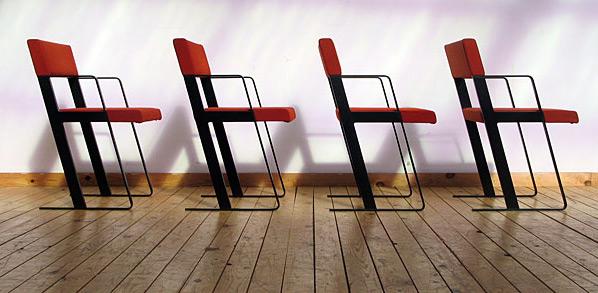 DC chairs Dick Spierenburg for Castelijn 1978