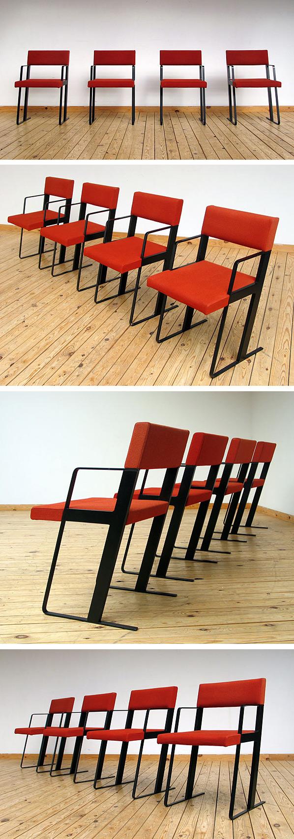 DC chairs Dick Spierenburg for Castelijn 1978 Large