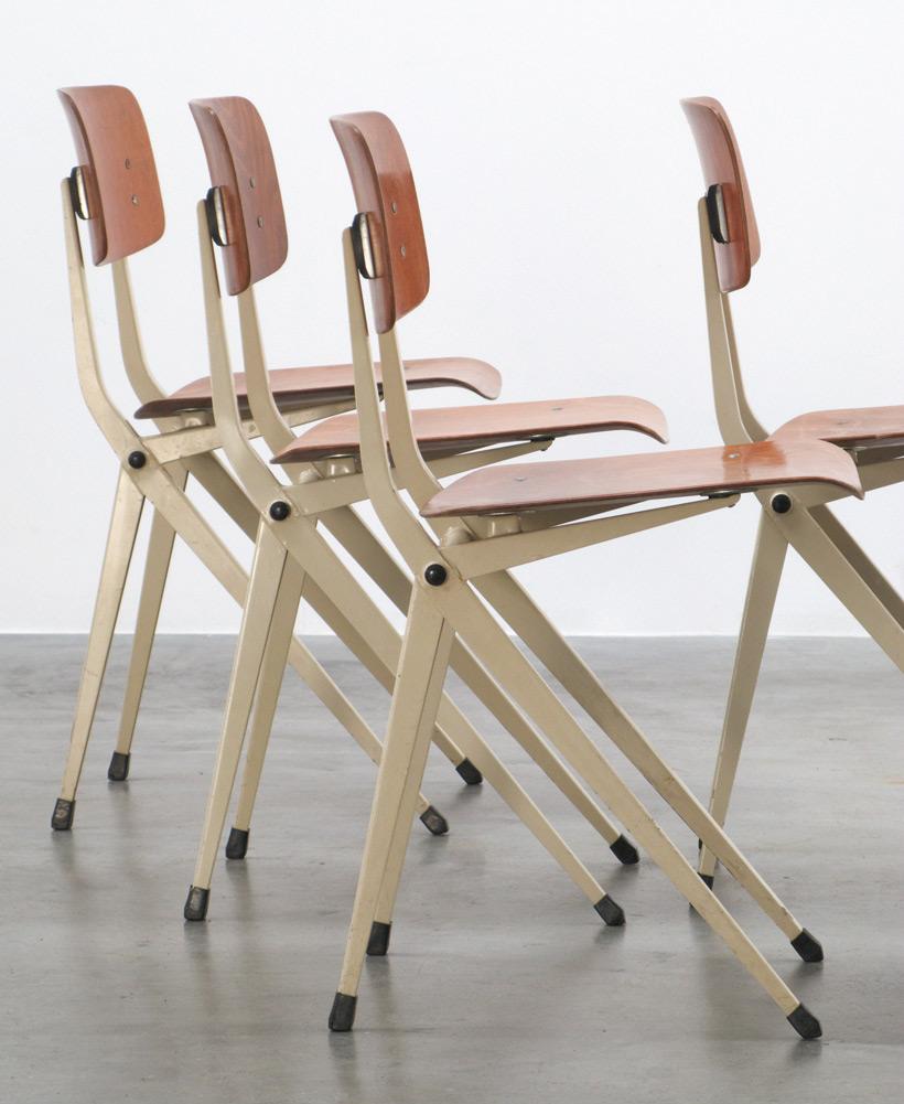 De Marko 4 Industrial chairs