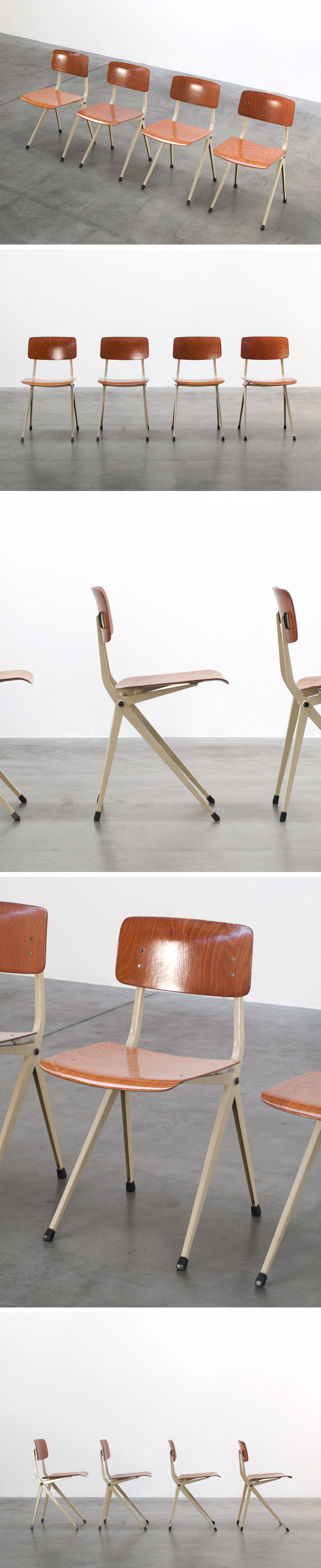 De Marko 4 Industrial chairs Large