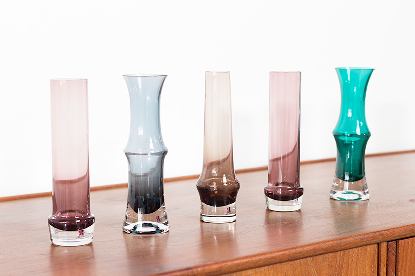 Decorative five glass works by Tamara Aladin Riihimaki Lasi Oy img 3