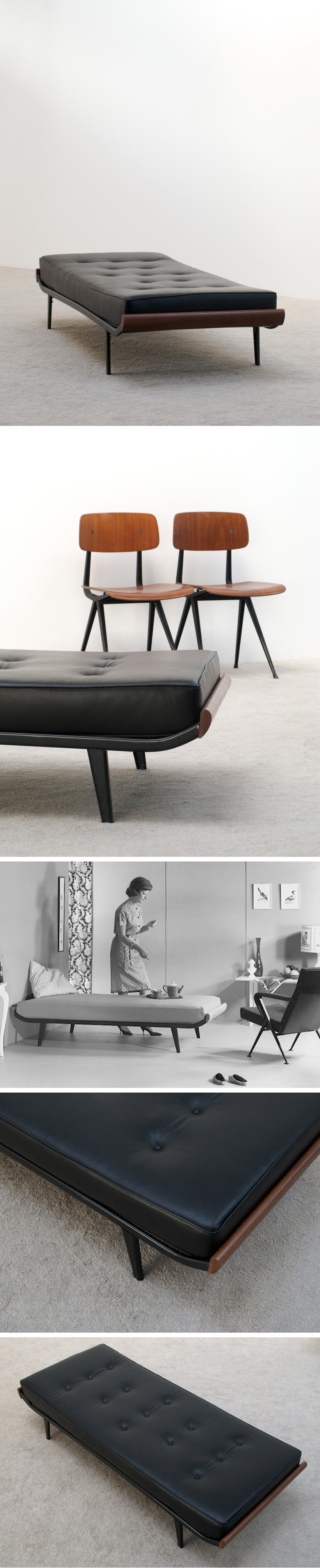 Dick Cordemeijer Cleopatra Daybed 1953 Large