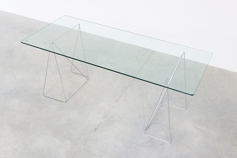 Dinning table with minimalistic modern clean lines circa 1970 img 5